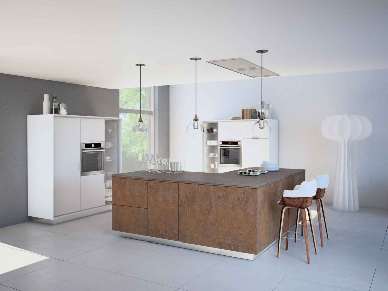 TEMA ceramic titan and ceramic bronze Kemphaus Kitchens