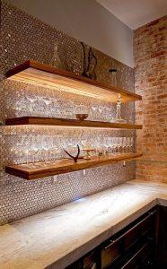 shelf lighting ideas Kitchen design Bishops Stortford