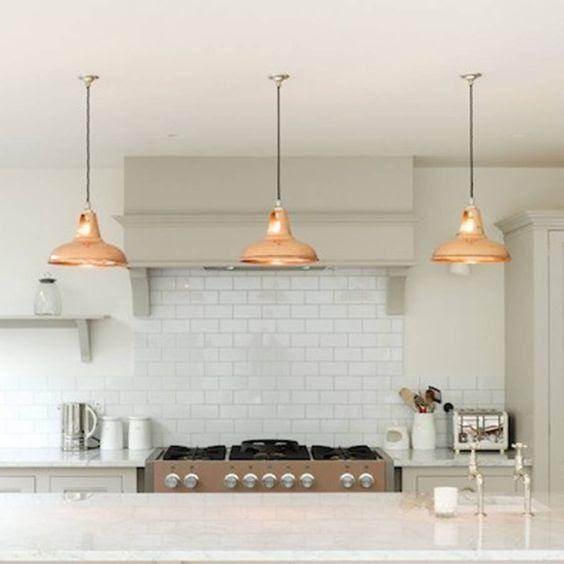 Pendant lighting Designer kitchens bishops stortford