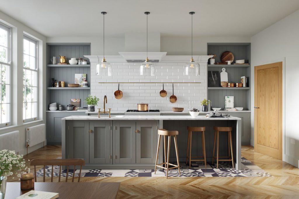 Metropolitan style kitchen