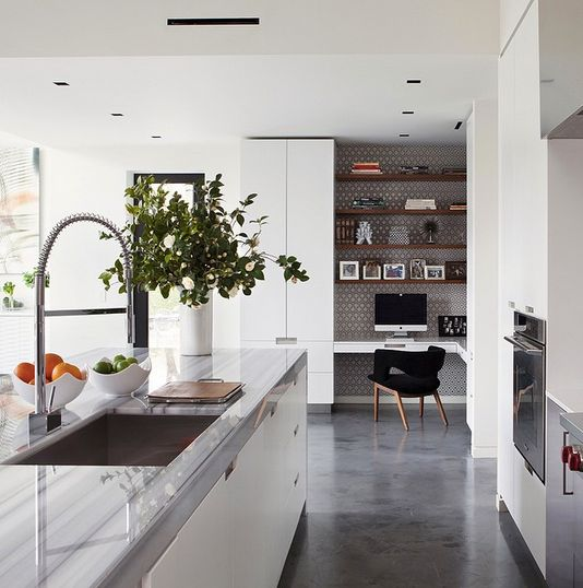 A dedicated work space to improve your kitchen